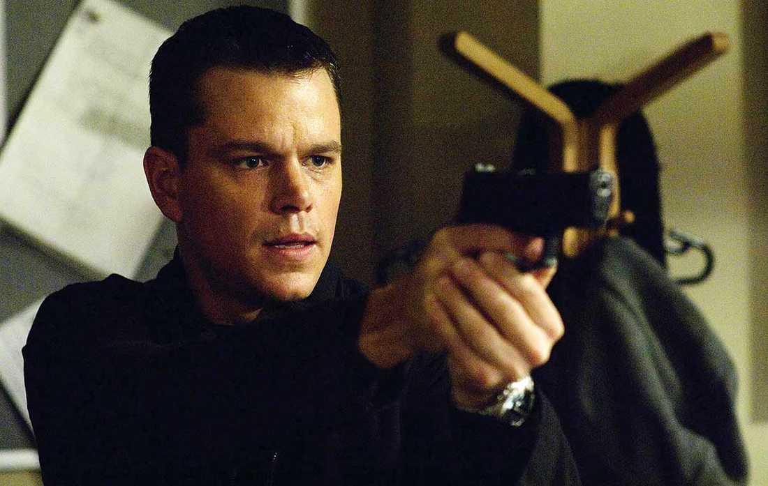 Matt Damon i rollen som superagenten Jason Bourne.
