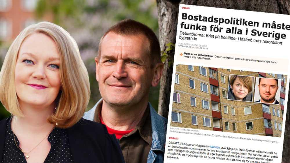 Vi såg inte inrättandet av ett expertråd för bostadsfrågor som motiverat. Därför röstade vi nej och fällde förslaget. Det är inte fler utredningar som behövs, utan politisk handling. Bygg bort bostadsbristen, skriver  Emma-Lina Johansson och Anders Skans (V).