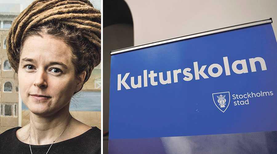 Förra hösten drev Moderaterna och Kristdemokraterna, med stöd av Sverigedemokraterna, igenom en slakt av statens stöd till kulturskolan. Nu återställer regeringen stödet, skriver Amanda Lind.