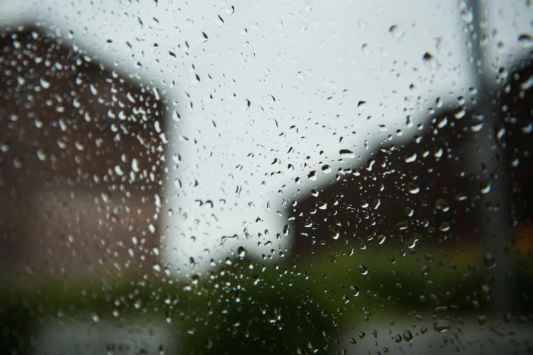 30 fastigheter har översvämmats i Kungsbacka kommun.