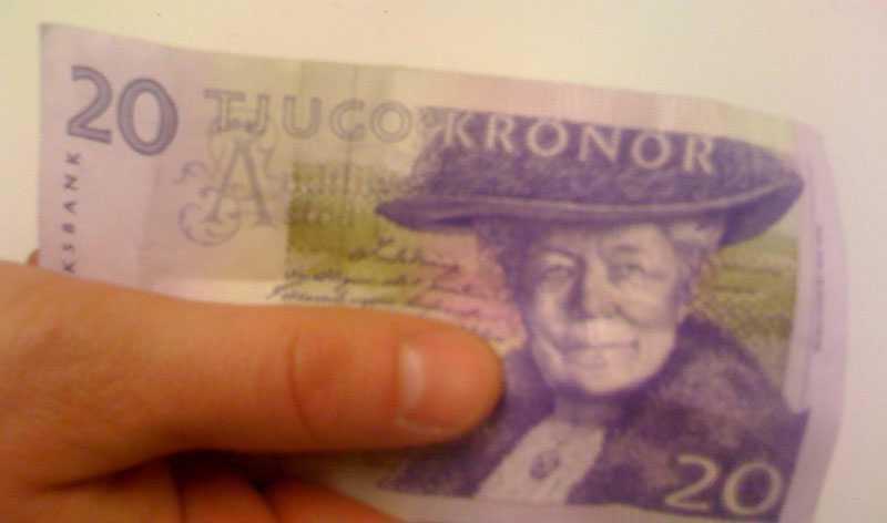 Riksbanken vill ersätta tjugokronorssedeln med mynt.