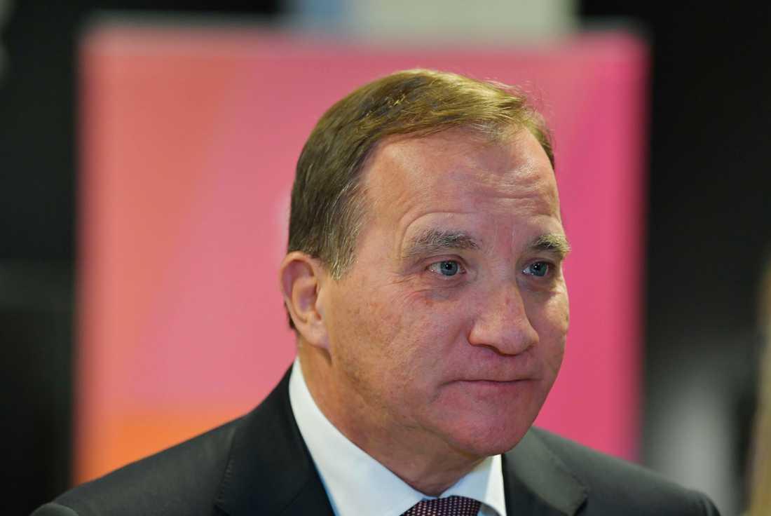 Statsminister Stefan Löfven. Arkivfoto.