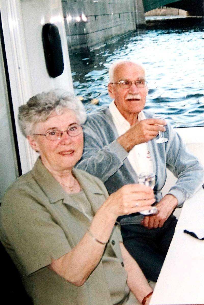Tor Öberg, 70, och Gerd Viklund, 67.