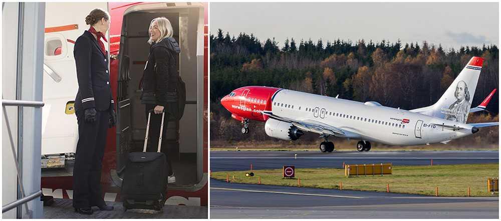 Nu ändrar flygbolaget Norwegian sina regler för kabinpersonalen.
