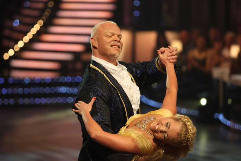 """Magnus Samuelsson och Annika Sjöö i """"Let's dance""""."""