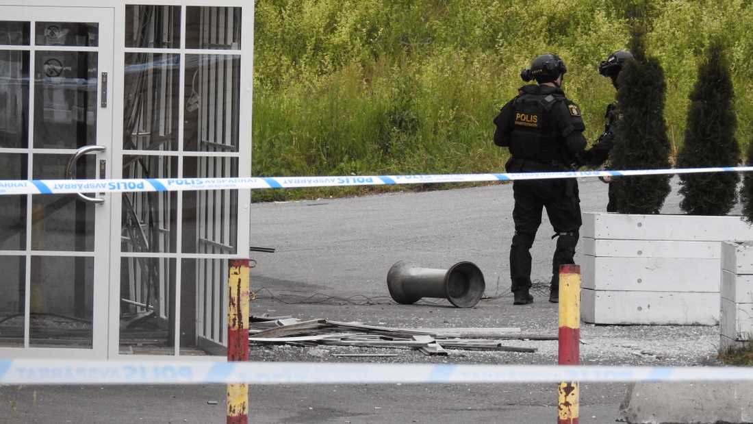 I fredags inträffade en kraftig explosion vid en kyrka i Södertälje. Antalet sprängningar har ökat kraftigt i år.