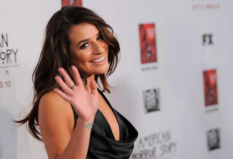 Lea Michele har förlovat sig med kärleken Zandy Reich.
