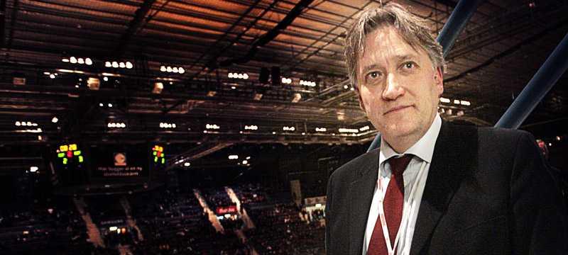 Mats Larsson, ordförande i Djurgårdens IF Hockey.