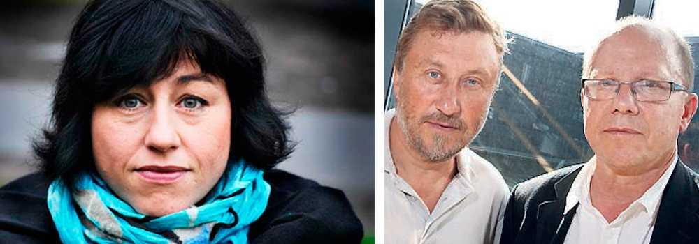 """Hanne Kjöllers bok """"En halv sanning är också en lögn"""" har fått mycket kritik. Nu ska hon debattera mot Uppdrag granskning Nils Hanson"""