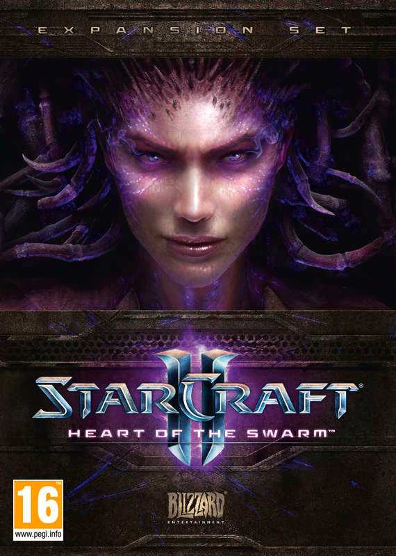 """Starcraft II: Heart of the swarm"""