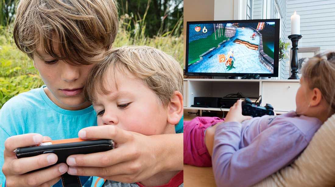 De här spelen är bra och de här spelen är mindre bra för barn.