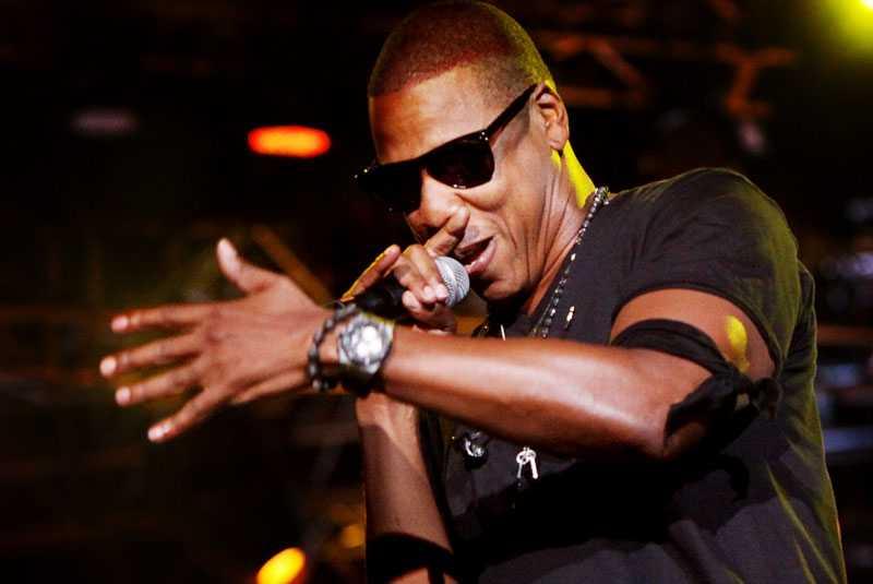 Jay-Z var dragarnamnet på sommarens Peace & Love-festival.