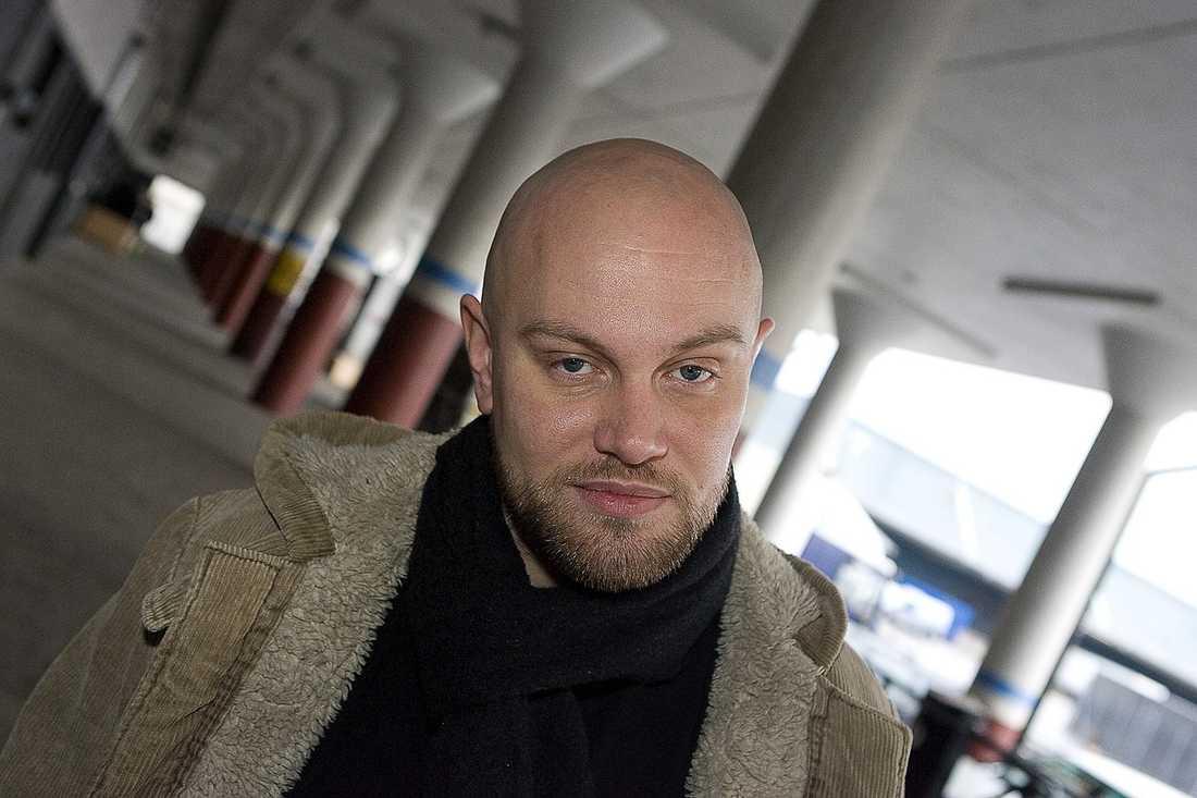 Daniel Breitholtz startade ett Twitter-konto i Per Morbergs namn.