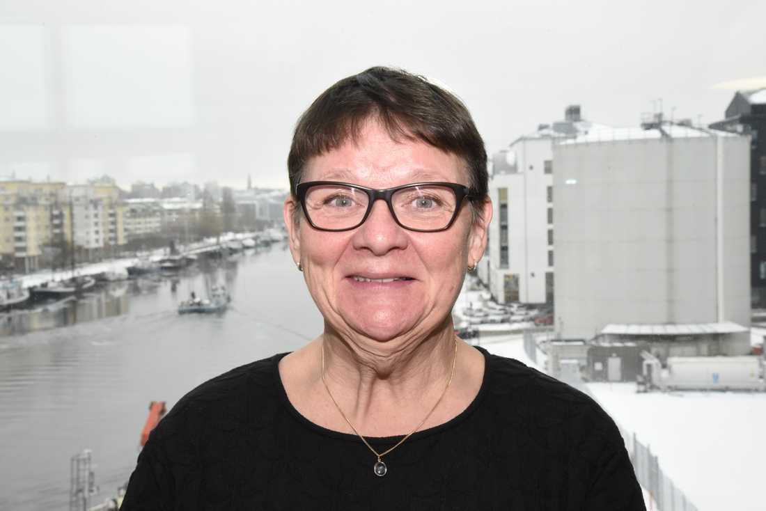 Anne-Marie Eklund Löwinder, säkerhetschef på Internetstiftelsen. Arkivbild.