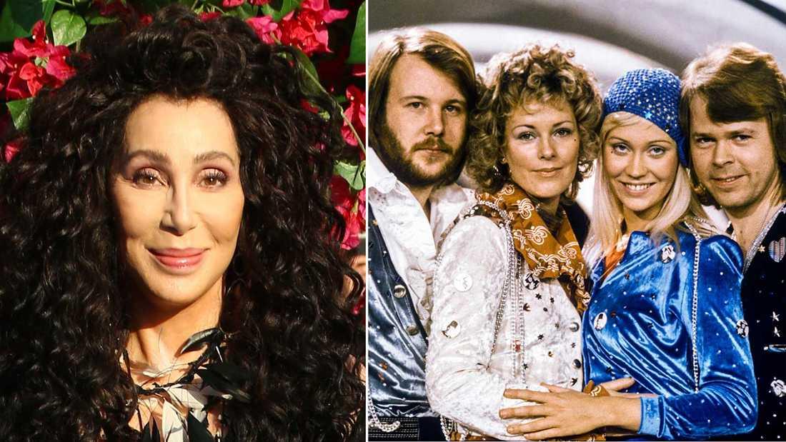 Cher sjunger Abba på sitt nya album.