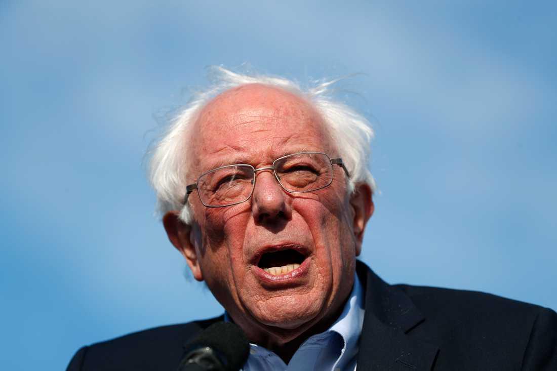Den demokratiske senatorn Bernie Sanders. Arkivbild.
