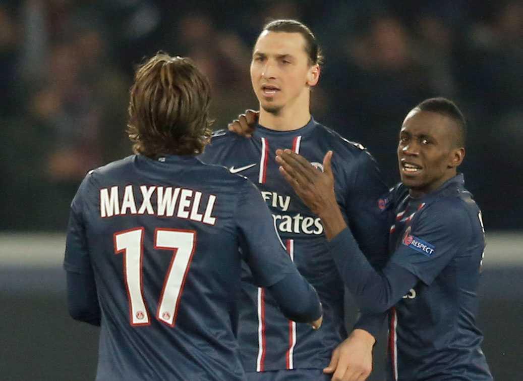 Zlatan Ibrahimovic - betydligt populärare hos fransmännen än hans klubblag, enligt undersökningen.