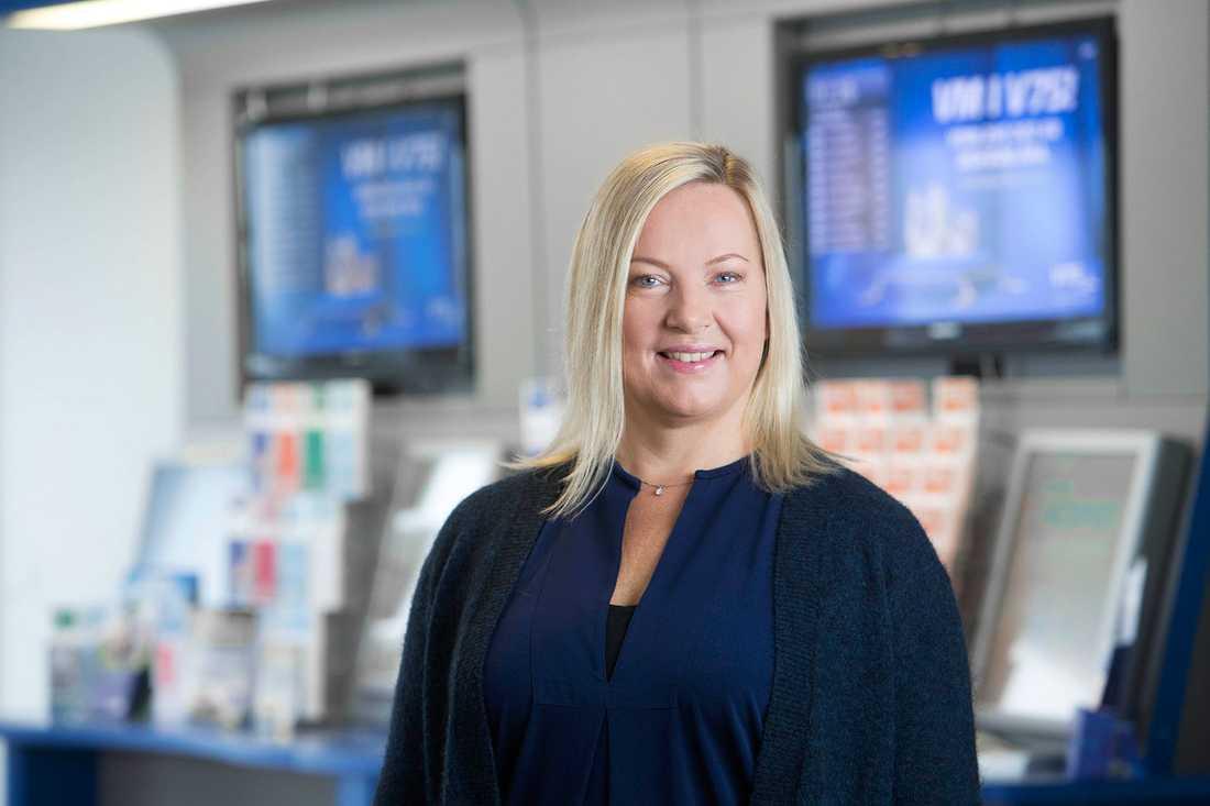 ATG:s ekonomichef, Lotta Nilsson Viitala.