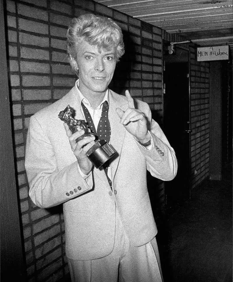 Med en Rockbjörn 1983.