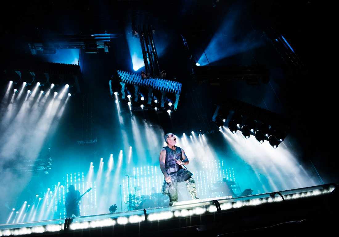 Rammstein gör en extra konsert i Göteborg nästa år. Arkivbild.