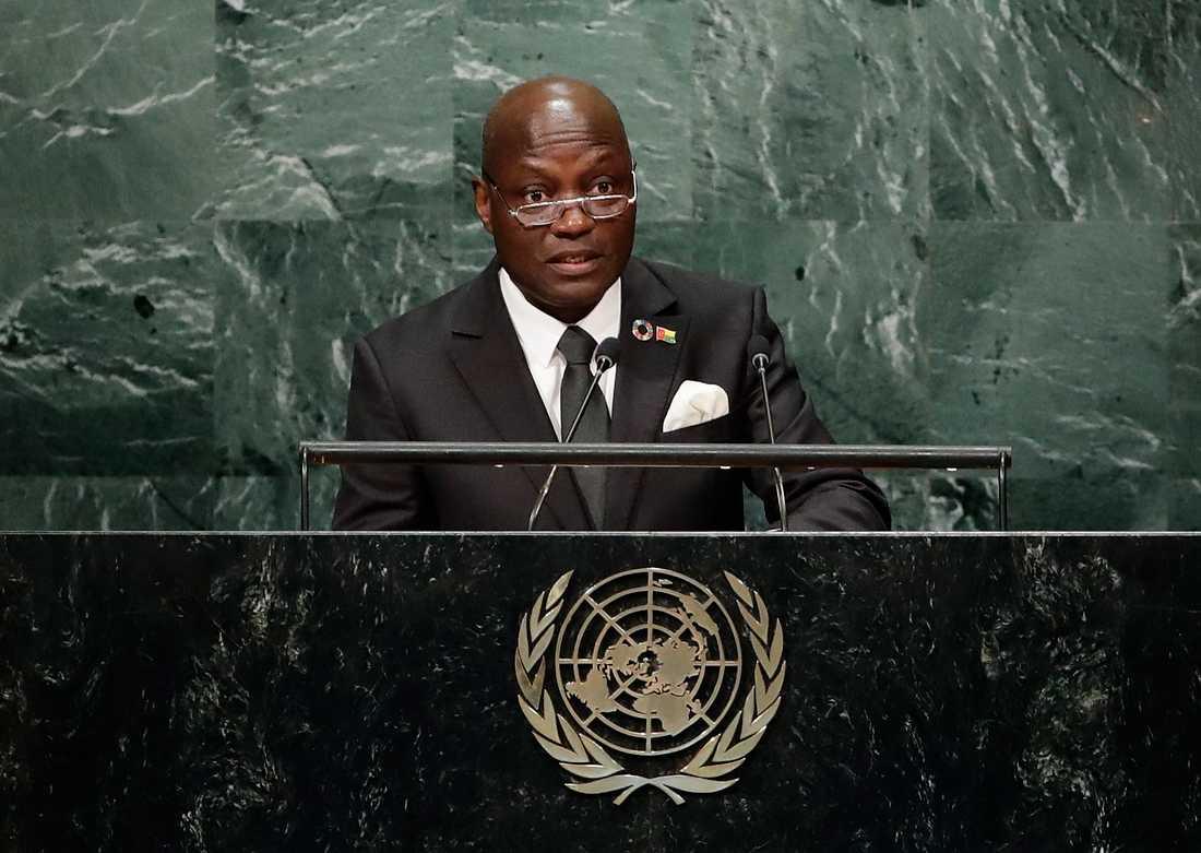 Guinea-Bissaus president José Mário Vaz. Arkivbild.