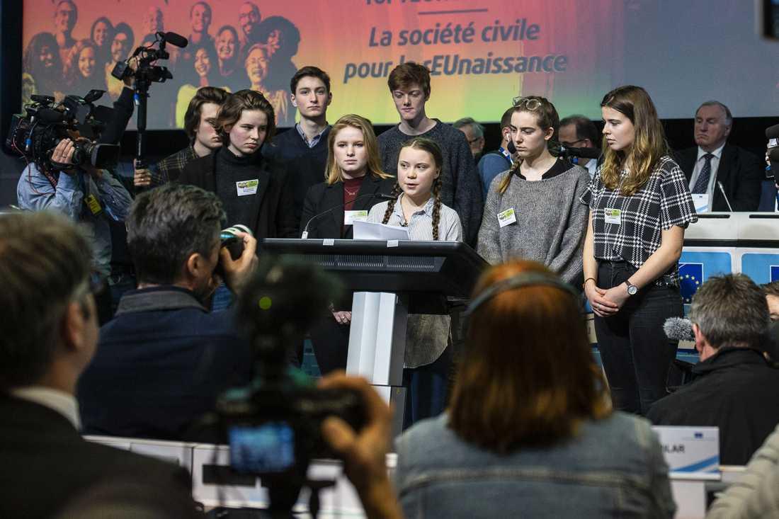Uppmärksamheten i Belgien är enorm inför Thunbergs besök.