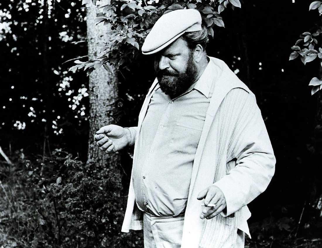 """Originalet Ernst Günther som """"kapitalist"""" i filmen """"Badjävlar"""" från 1971."""