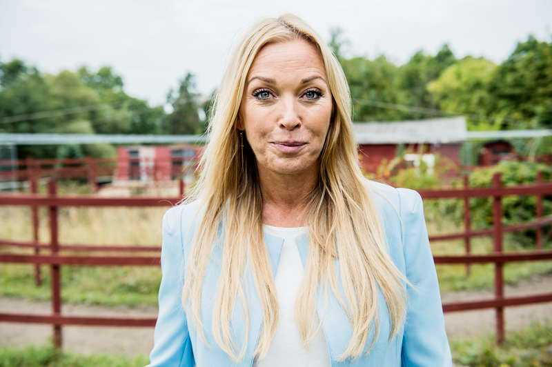 "Linda Lindorff i ""Bonde söker fru""."