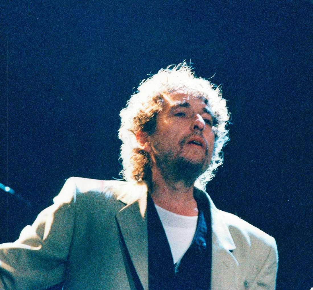 Bob Dylan på Cirkus 1991.