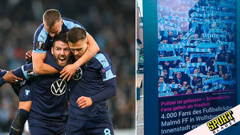 Tyska polisens fina gest till MFF-fansen