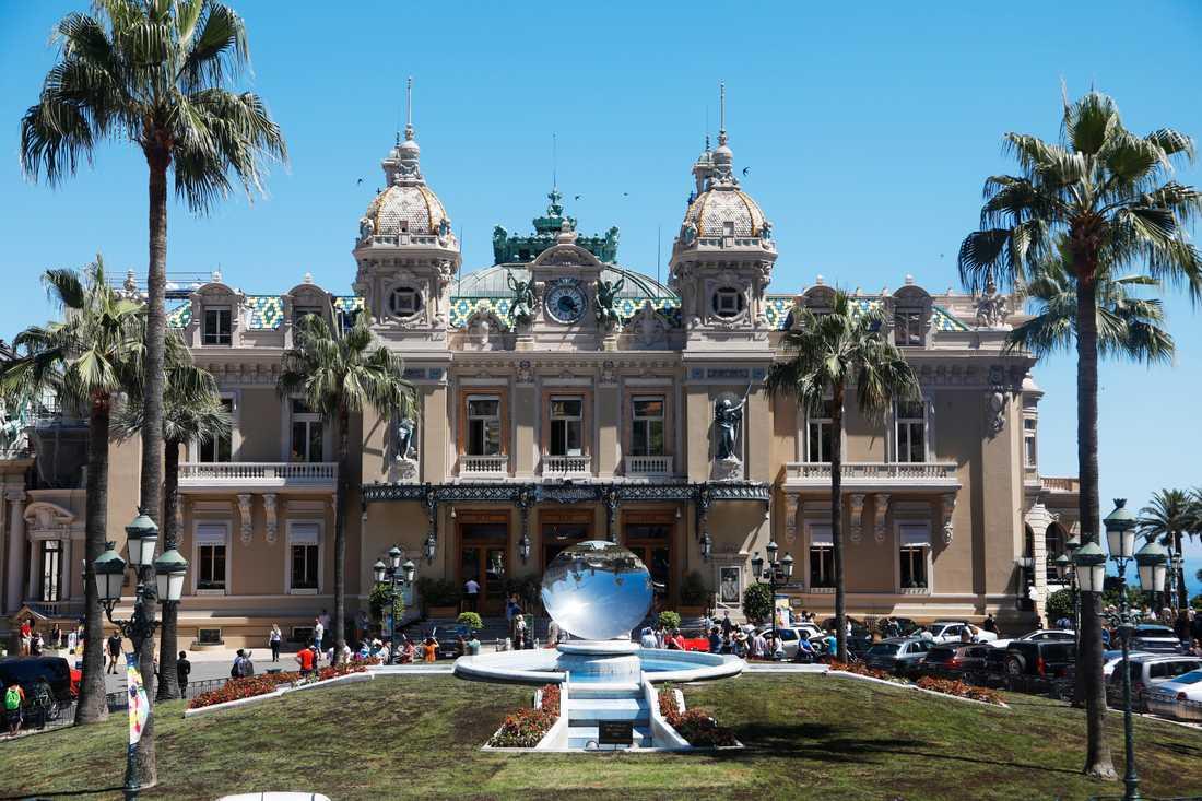 Casino i Monaco. Arkivbild.