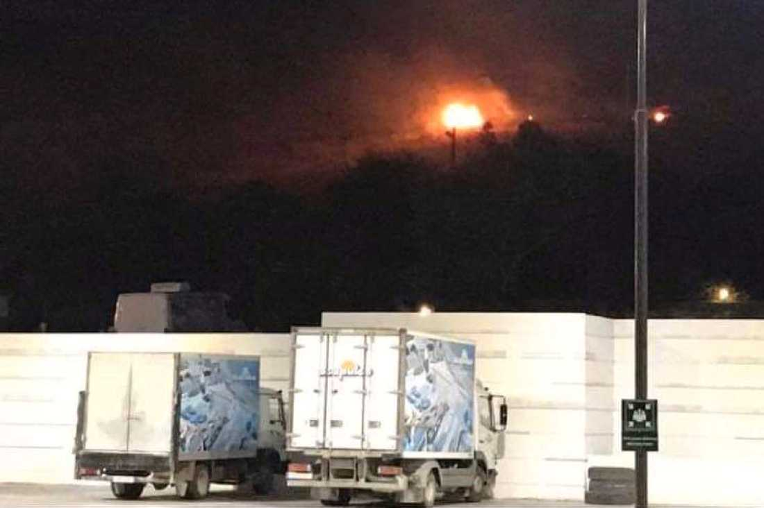 Explosionerna inträffade i ett ammunitionslager på ett militärområde öster om Kyrenia på Cypern.