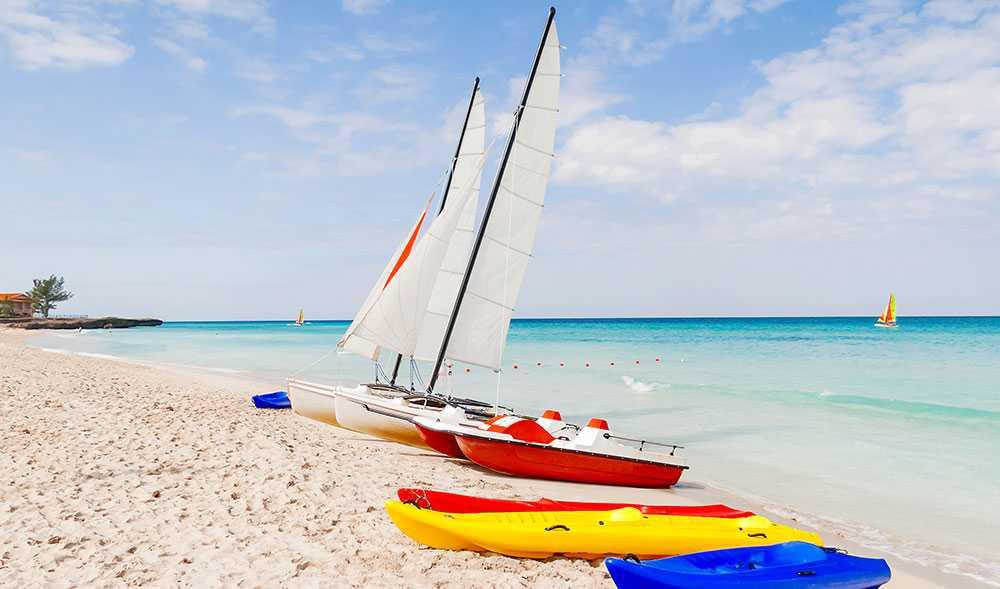 Varadero Beach på Kuba är nummer två på listan.
