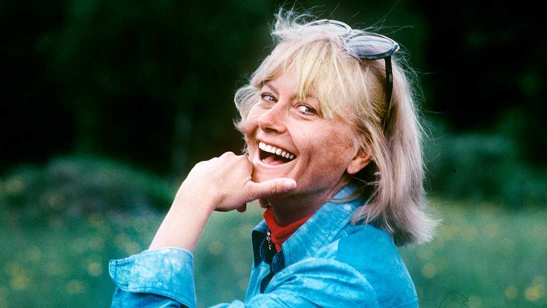 Monica Zetterlund (1937–2005).