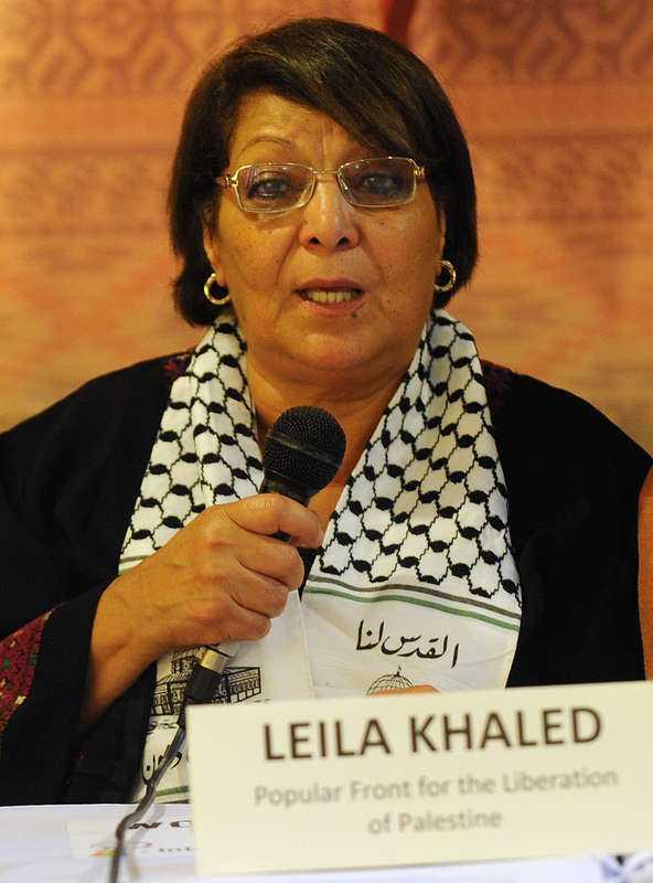 Kommer till Sverige Leila Khaled har blivit inbjuden av Kommunistiska partiet i Göteborg för att tala under ett möte med partiet.