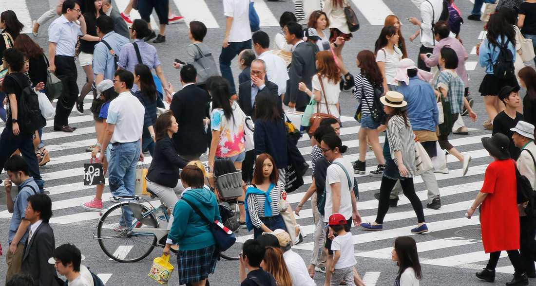 MEST SEXUELLT FRUSTRERADE LANDET Konservativa Japan är det land som lär ha den minst tillfredsställda befolkningen. I en undersökning sade sig endast 15 procent av japanerna vara nöjda med sitt sexliv och 45 procent av kvinnorna uppgav att de var ointresserade av –eller till och med avskydde –sex.