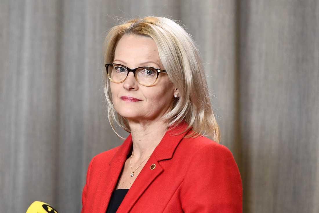 Migrationsminister Heléne Fritzon blir enligt Aftonbladets källor Socialdemokraternas toppnamn i EU-valet.
