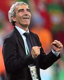 """SEGERVITTRING Raymond Domenech har inte haft det lätt som förbundskapten för ett franskt landslag med många viljor. Men en sak var han tvärsäker på: """"Vi ses i finalen den 9 juli"""", sa han inför turneringen. På söndag spelar hans landslag om VM-bucklan. """"Det är bara de riktigt passionerade som når ända fram"""", säger han."""