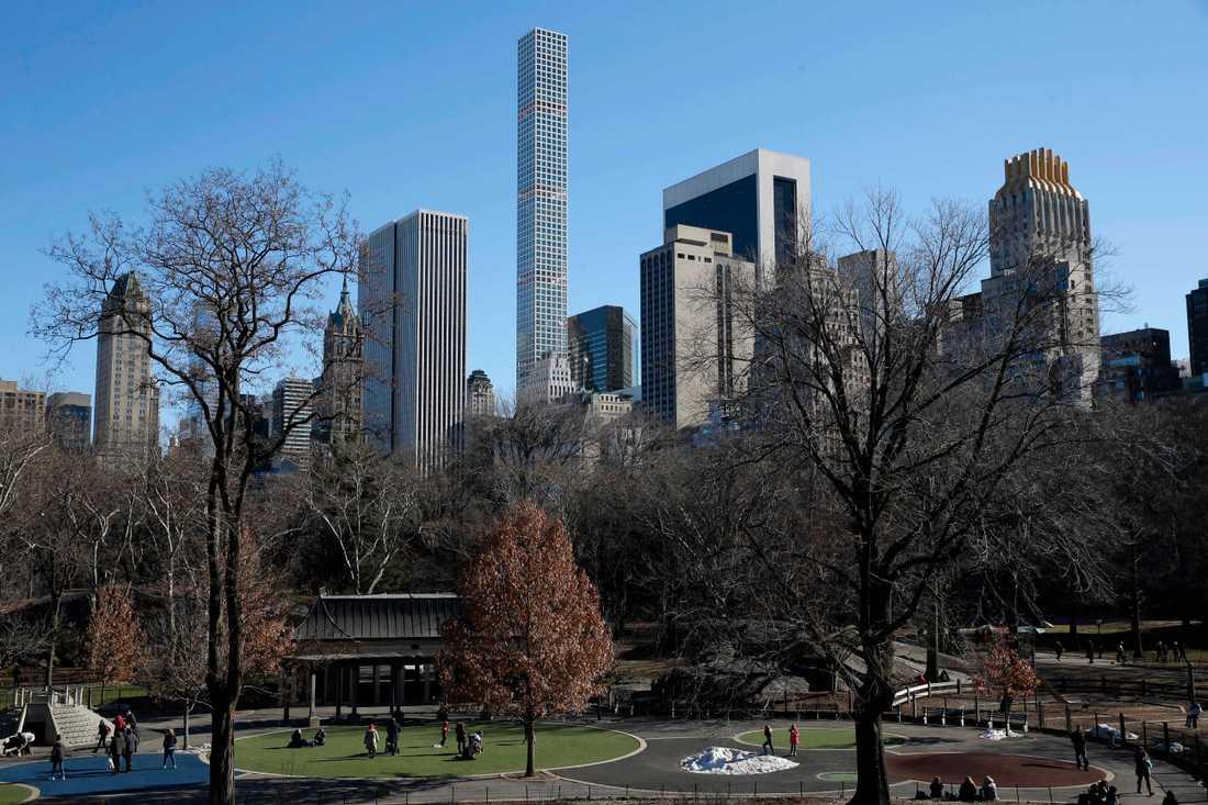 En kvinna åtalas för att ha hotat en fågelskådare i Central Park med att ringa polisen. Arkivbild.