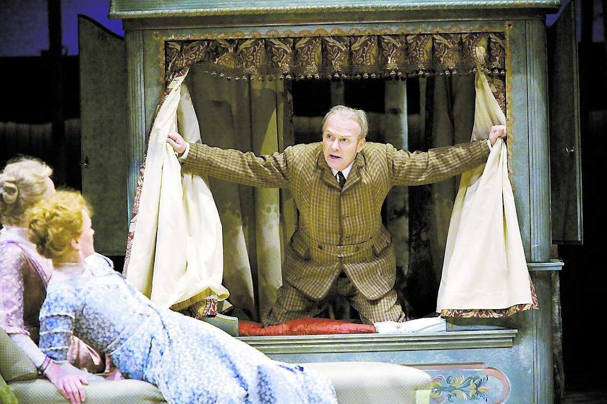"""Pontus Gustavsson i """"Muntra fruarna i Windsor"""""""