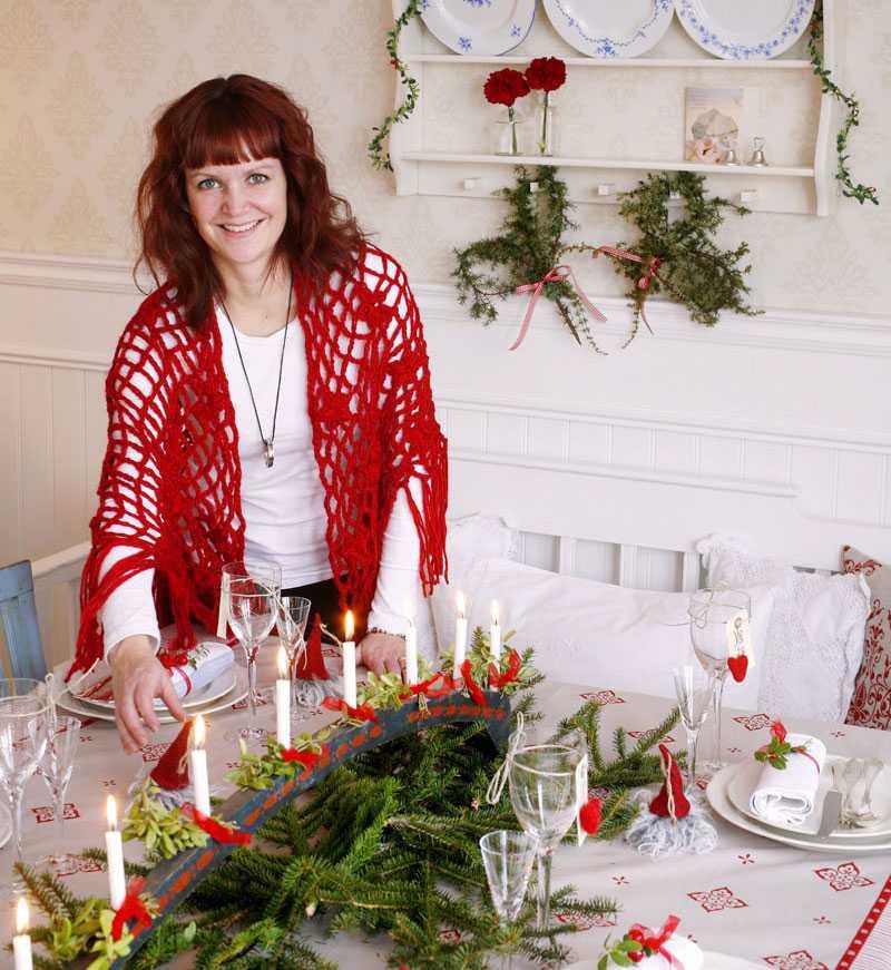 """""""Matsalen är husets juligaste rum – det är här julmiddagen ska avnjutas"""""""