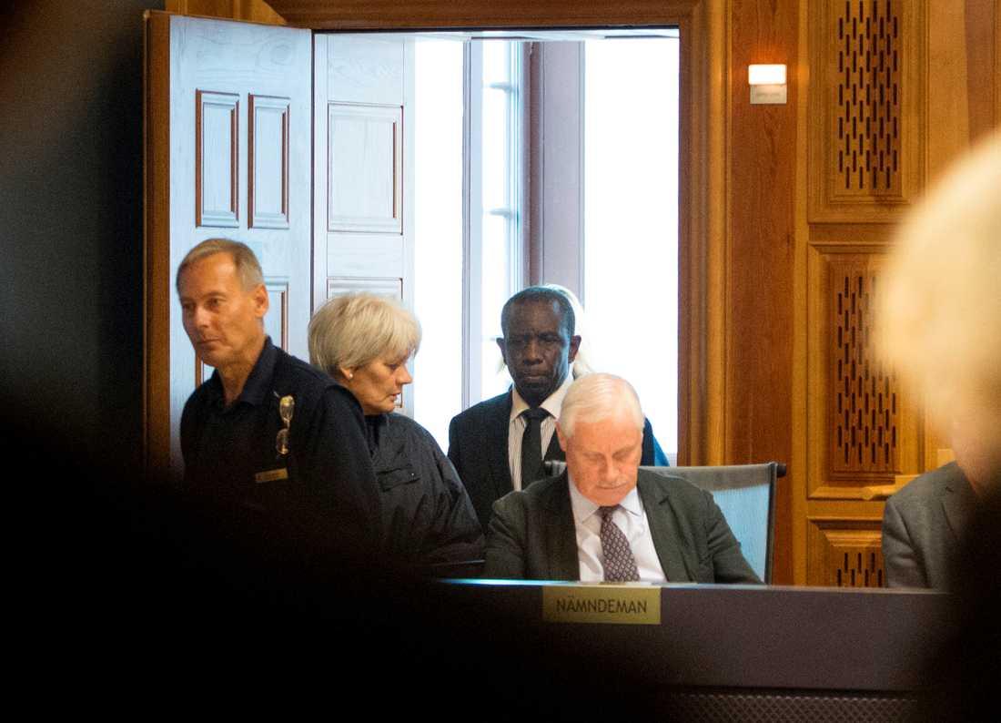 Claver Berinkindi under rättegången, 2015.