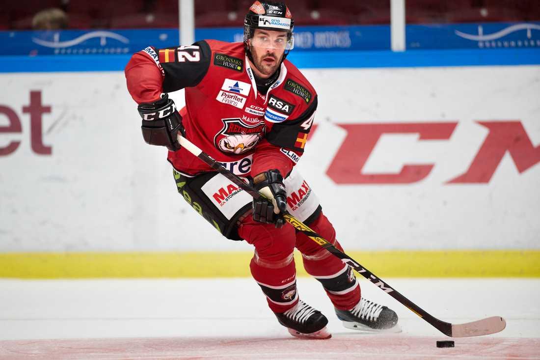 Niklas Arell lämnar Malmö för spel med HV71. Arkivbild.