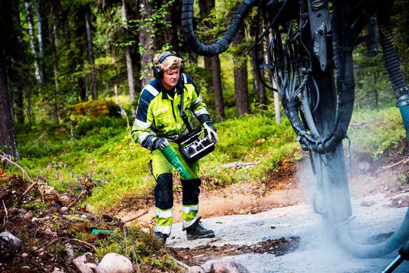 Brittiska bolaget Beowulf mining har börjat provborra i Kallak, fyra mil norr om Jokkmokk.