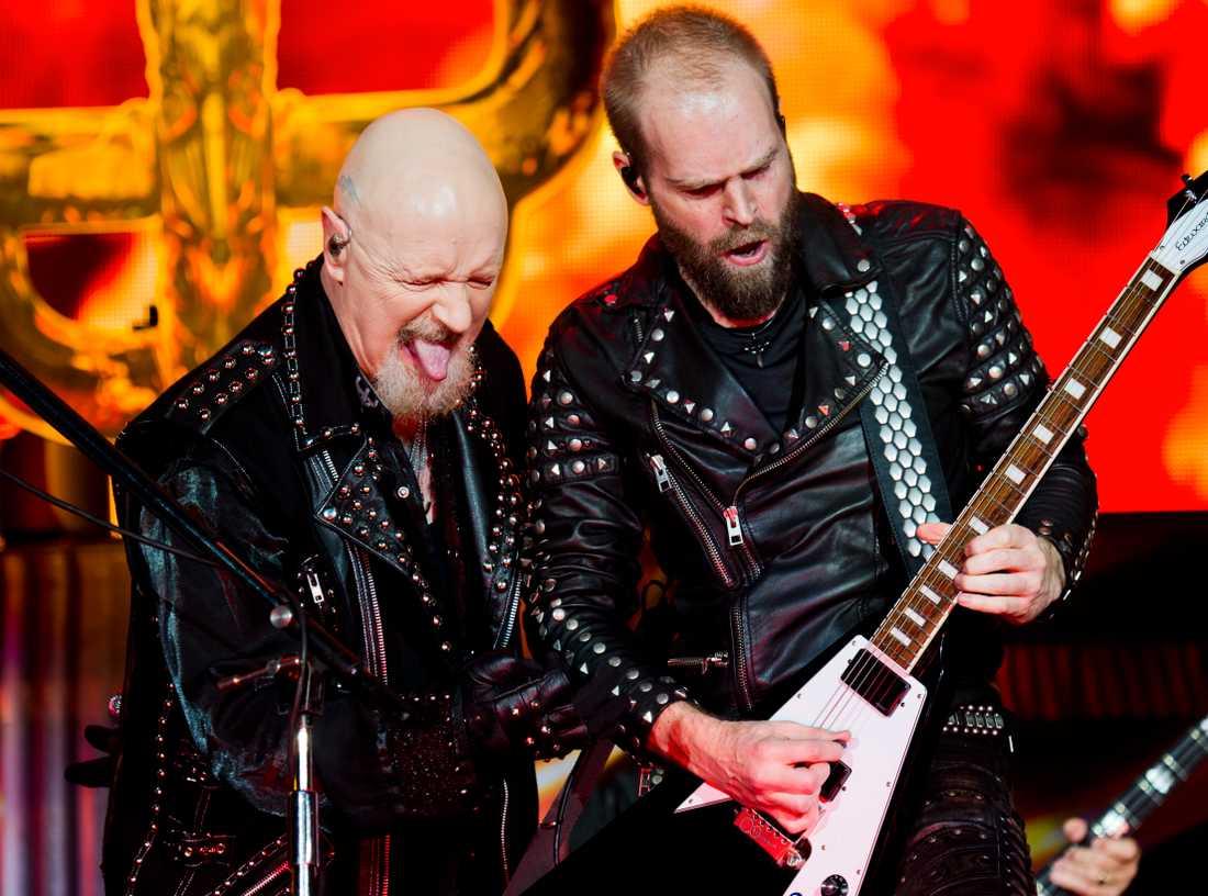 """Judas Priest hittade glöden igen med årets album """"Firepower""""."""