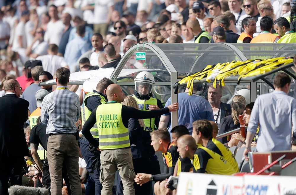 Kaos bakom Hammarbys bänk efter förlusten mot AIK