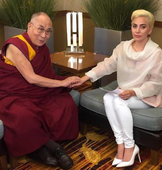 Lady Gaga och Dalai Lama
