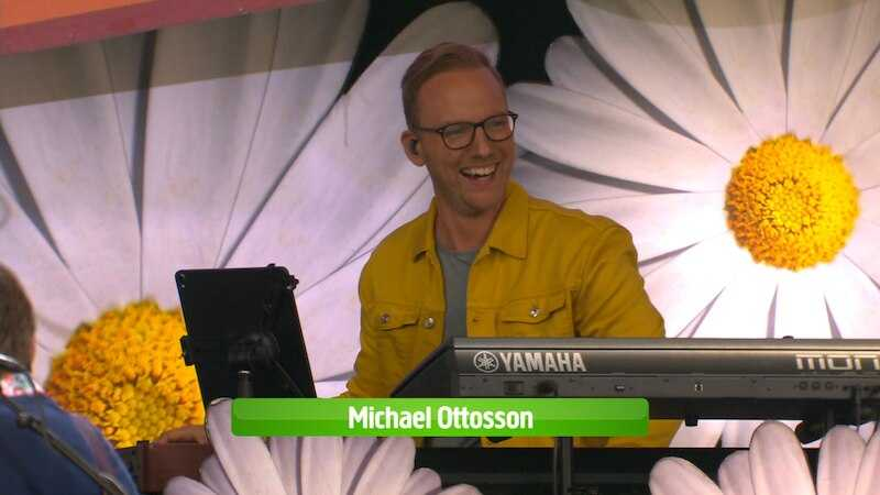 Keyboardisten Michael Ottosson blev 36 år.