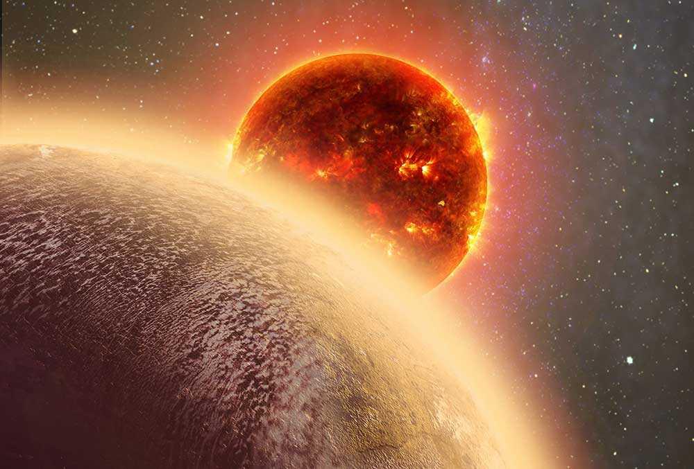 Planeten GJ 1132b.
