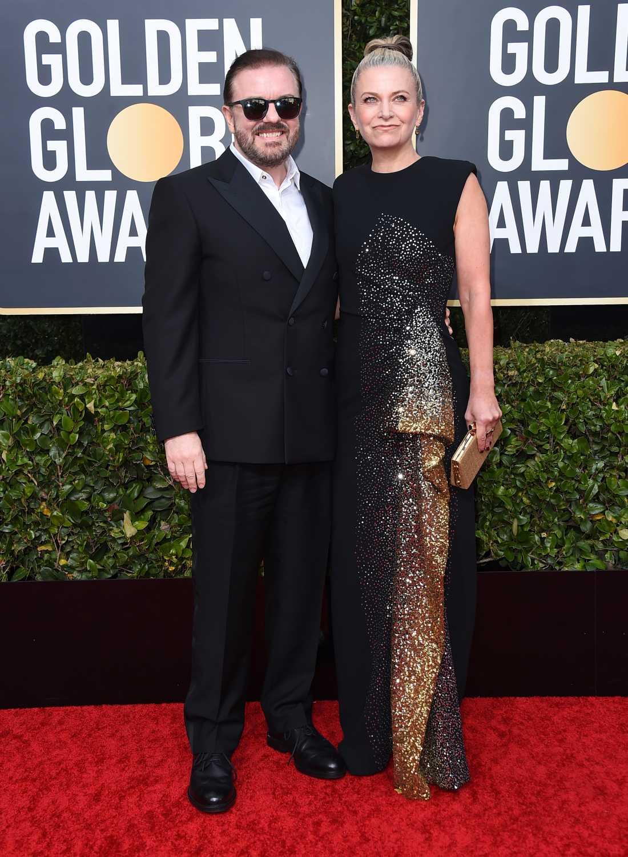 Ricky Gervais och Jane Fallon